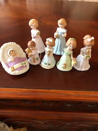 Growing Up Birthday Girl figurines. Ages Baby to age 6. Brampton, L6S 4X6