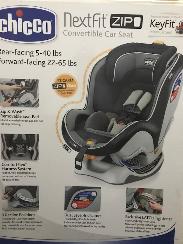 Chicco Convertible Car Seat Box