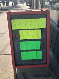 GARAGE SALE THIS WEEKEND! Aug 17th - 18th  Toronto, M5T 1S6
