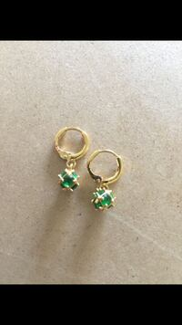 Brand new high quality gold plated ball earrings Sayreville, 08872