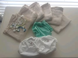 Never used Cloth diaper starter pack