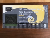 Holloween spider web lights BNIB  Vaughan, L4H 2S8