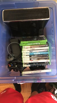 Xbox 360 with games West Hartford, 06119