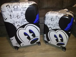 New Disney Mickey mouse luggage