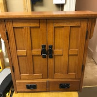 Brown wooden 2-door cabinet Mount Airy, 21771