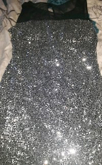 Scarlett black/silver brand new night/prom dress