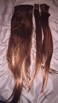 Synethic hair extensions  Sherwood Park, T8A 6L4