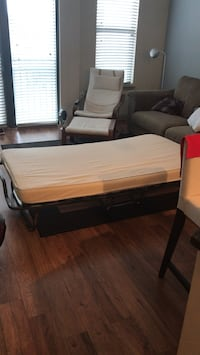 Folding Rollaway Bed with Wooden Slats and Comfortable Foam Mattress Arlington, 22209