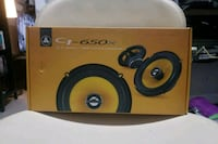 black and yellow Pioneer subwoofer Surrey, V4A 2A2