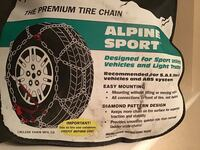 Tire Snow Chains-NEW Tracy, 95376