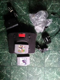 N64 with all hookups 2 controller and 2 games Richton, 39476