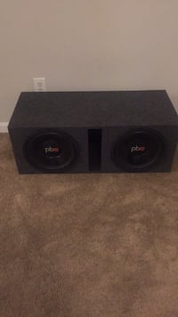 Stereo system power base 12's