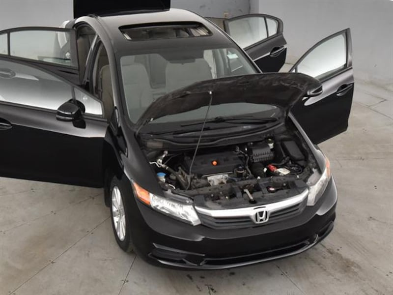 2012 Honda Civic sedan EX Sedan 4D Black <br /> 3