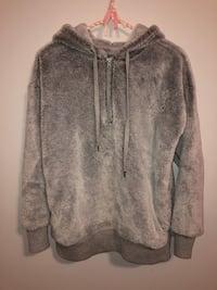 Aerie furry hoodie Size: Xs