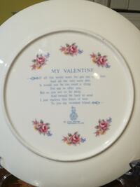 Royal Doulton 1977 My Valentine's Day plate 万锦