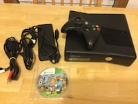 Black microsoft xbox 360 with controller Charles Town, 25414