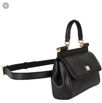 Dolce & Gabbana leather small Sicily belt bag