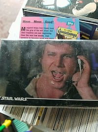 Star War cards Empire Strikes Back cards, Goosebum