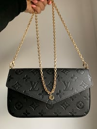 Black Louis Vuitton bag Laval, H7G