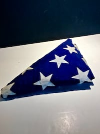 FULL SIZE 50 STAR HAND STITCHED AMERICAN FLAG Providence