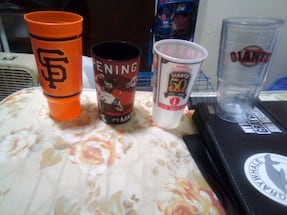 San Francisco Giants Collectors Cups