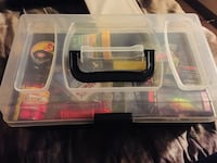 New! Tackle box w/ fishing accessories Kelowna, V1X 4G4