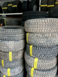 Any size used and new tire with installation Toronto, M3J 2B9