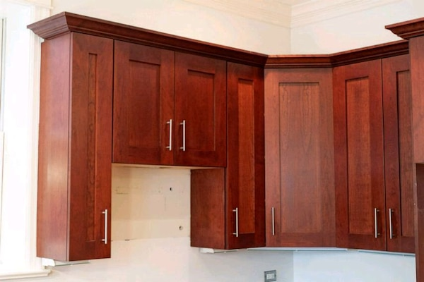 Orchard Hill Cherry Wood Kitchen Cabinets