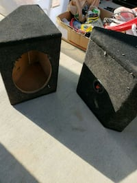 black and brown subwoofer enclosure Huntington Beach, 92649