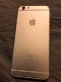 silver iPhone 6 with 16 gig in mint condition everything works perfectly Burlington, L7R 4S1