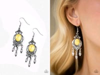 Enchantingly Environmentalist yellow earrings  Gaithersburg