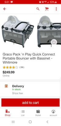 graco pack and play  Shelbyville, 37160