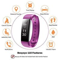 BESYOYO Waterproof Fitness Tracker Washington