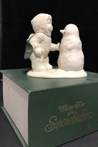 """Snow baby Figurine """"Why don't you talk to me"""" (Retired) Mount Holly, 28120"""