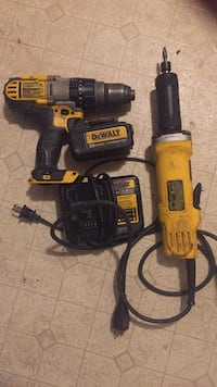 1/2 drill/driver/hammerdrill with. battery and charger &1 1/2 die grinder  Frederick, 21701