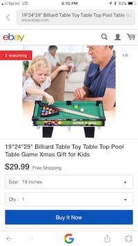 Portable pool Table (Pool Set) Anaheim, 92806