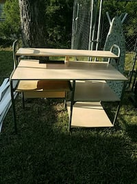 white and brown wooden desk San Antonio, 78216