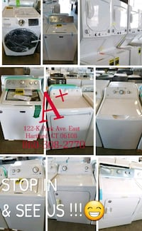 New washers and Dryers starting at $450 each Southington, 06489