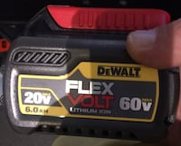 Dewalt 60 volt flex 6.0ah battery brand new  Schenectady, 12306