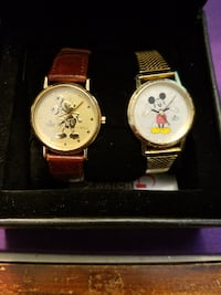 Two MIckey Mouse watch