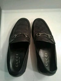 pair of black leather loafers Falls Church, 22041