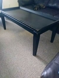 rectangular black wooden coffee table Brandon, 33510