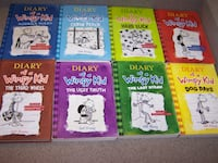8 DIARY OF A WIMPY KID books Vaughan