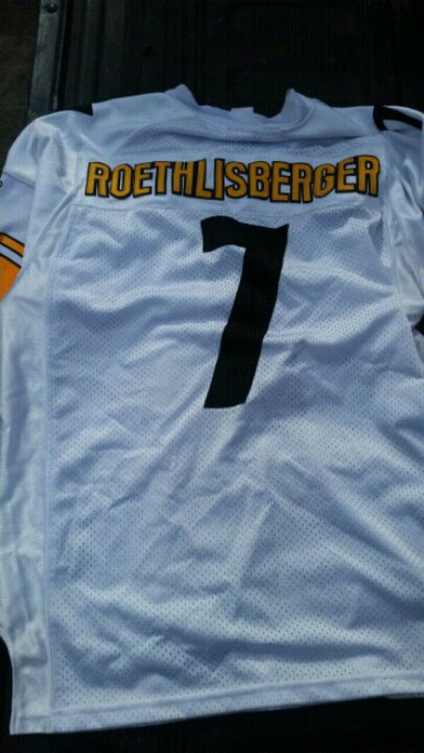 huge selection of 8386f d95ab Roethlisberger Steelers Jersey