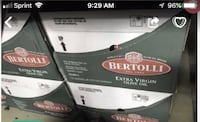 Bertolli extra Virgin Olive oil great for healthy cook. Miami, 33194