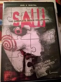 Saw the complete movie collection DVD case Lincoln, 68503