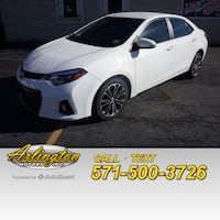 2014 Toyota Corolla S Plus Woodbridge, 22191