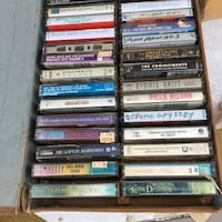 Over 25 tape cassettes in carrying case Copley, 44321