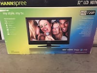 "Hannspree 32"" LCD TV with stands  Lake Forest, 92630"