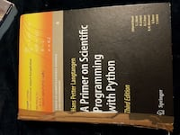 En Primer of Scientific Programming med Python Third Edition bok Oslo, 1054